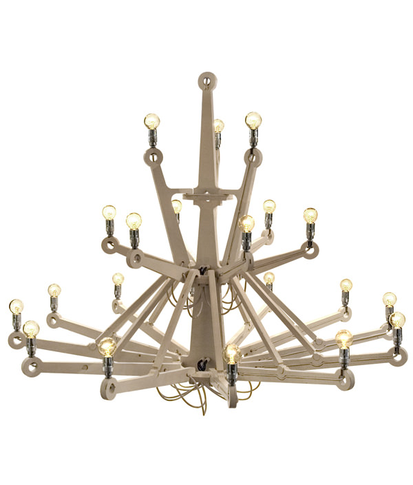 CHANDELIER IN PLYWOOD ¥669,600(incl. Tax)