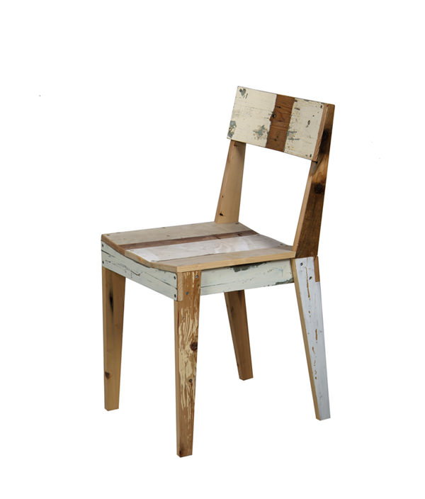 SCRAPWOOD CHAIR  ¥91,800(incl. Tax)