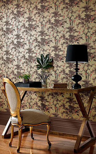 1838 Wallcoverings / Avington Harewood 1602-100-03