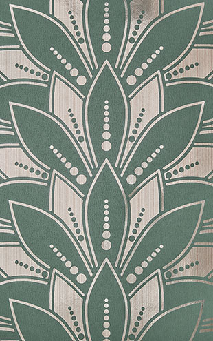 1838 Wallcoverings / ELODIE / Astoria Neo Mint 1907-139-05