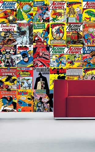 1 Wall / Creative Collage DC COMICS CREATIVE COLLAGE