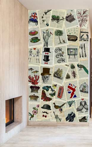1 Wall / Creative Collage MARION MCCONAGHIE CREATIVE COLLAGE