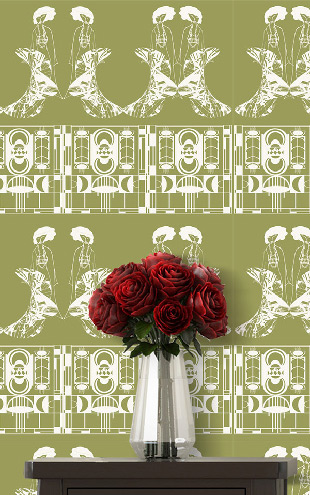 ATADesigns Enchanting Lilly / Ritzy Green