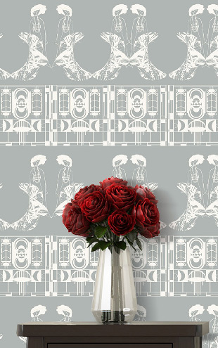 ATADesigns Enchanting Lilly / Soft Grey