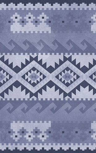 bloompapers / Random Papers Newkilim Kilim Purple/ 4500132