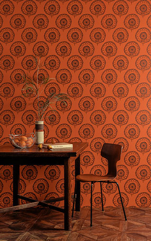 Texdecor CASAMANCE / 200408 HER ORANGE