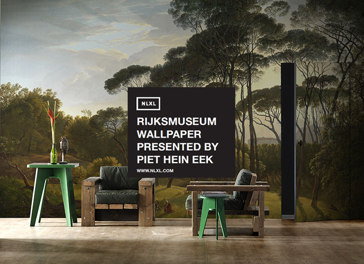 RIJKSMUSEUM WALLPAPER PRESENTED BY PIET HEIN EEK