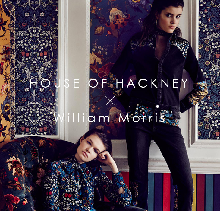 House of Hackney x William Morris