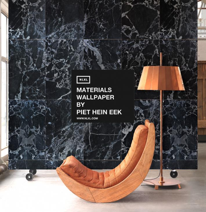 Materials Wallpaper by Piet Hein Eek