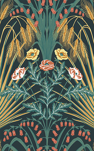 Cole&son / BOTANICAL BOTANICA / 115/3010 (MANOR HOUSE)