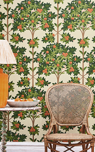 Cole&Son / SEVILLE ORANGE BLOSSOM 117/1001(MANOR HOUSE)