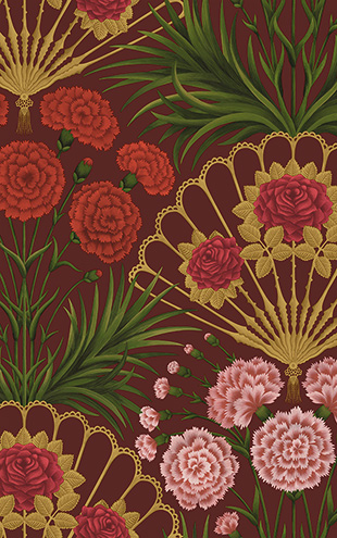 Cole&Son / SEVILLE FLAMENCO FAN 117/14046