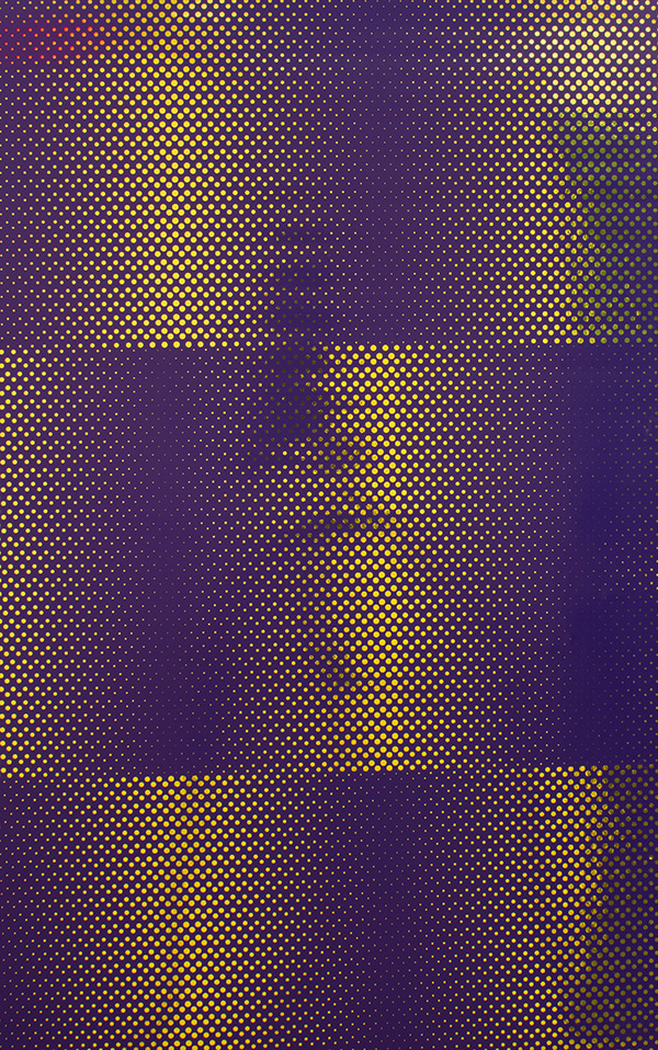 Flavor Paper DOT MATRIX / Royal On Bright Gold Mylar