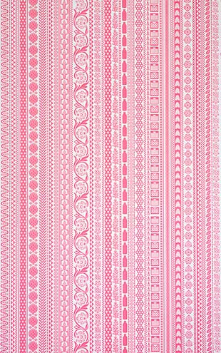 Flavor Paper FARMERS MARKET / Antique Pink On Ivory Clay Coated paper