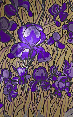Flavor Paper IRIS / Regal On Chrome Mylar