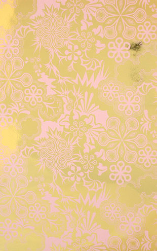 Flavor Paper PARTY GIRL / Blush On Bright Gold Mylar