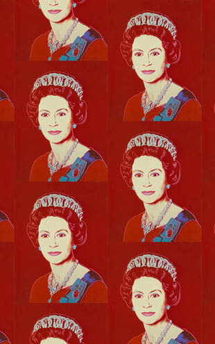 Andy Warhol  Queen Elizabeth / Ruby