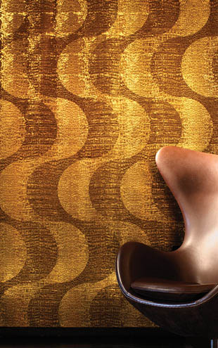 Flavor Paper RIO CROCODILLO / Caiman On Gold Ponyskin Foil