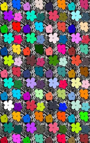 Andy Warhol  Small Flowers / Full Spectrum