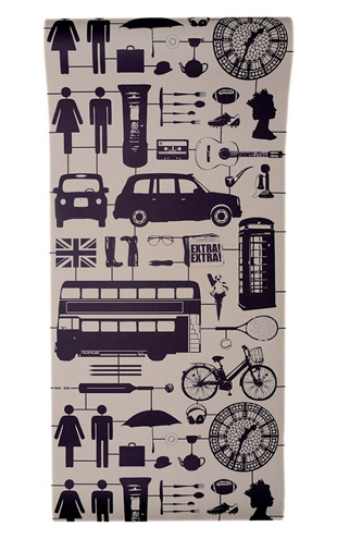 The Graduate Collection / Airfix London Wallpaper Taupe