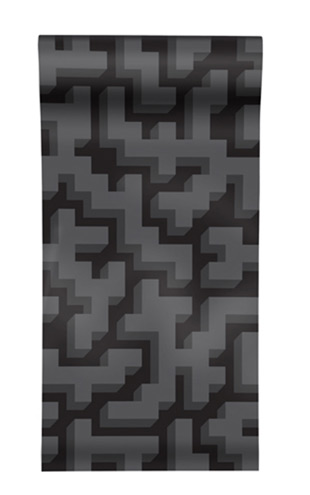 The Graduate Collection / See M Y K - Black Wallpaper