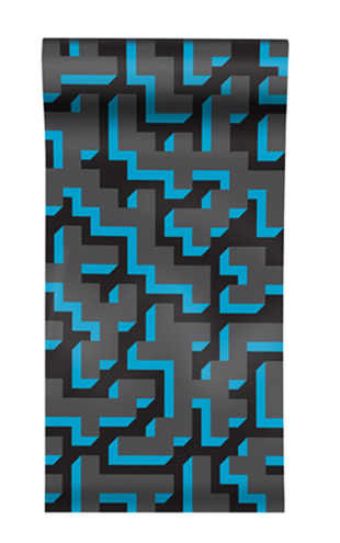 The Graduate Collection / See M Y K - Cyan Wallpaper