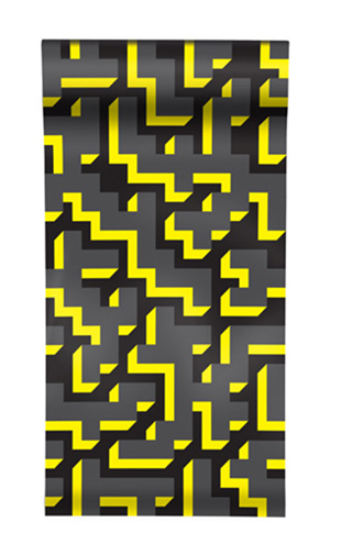 The Graduate Collection / See M Y K - Yellow Wallpaper