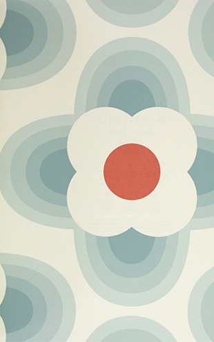 Orla Kiely HARLEQUIN Striped Petal / 110404