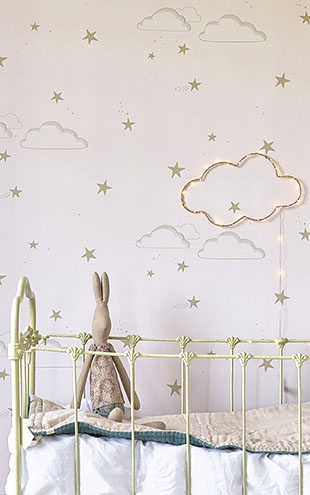 HIBOU HOME / イブゥ・ホーム Starry Sky HH01201 (Pale Rose/Gold)