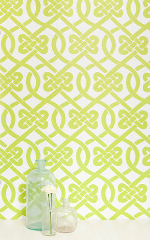Kimberly Lewis Home / Knotted Wasabi