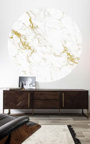 KEK Amsterdam / LANDSCAPES & MARBLE / WALLPAPER CIRCLES MARBLE CK-047