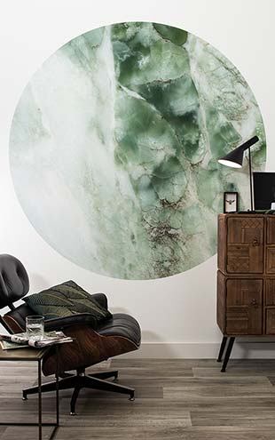KEK Amsterdam / LANDSCAPES & MARBLE / WALLPAPER CIRCLES MARBLE CK-049