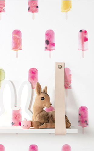 KEK Amsterdam / KIDS / WALLPAPER FRUITY POPSICLES WP-054