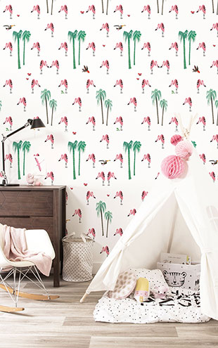 KEK Amsterdam / FIEP WESTENDORP / WALLPAPER FLAMINGO WP-122