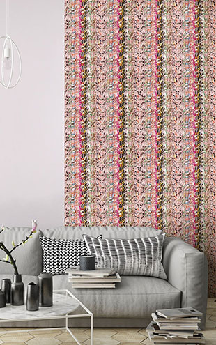 KOZIEL / Macrame On the heights of Lisbon wallpaper by Laurentine Perilhou 8888-PL03