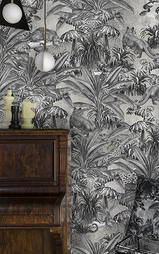 KRISTJANA S WILLIAMS STUDIO / Concrete Jungle Wallpaper Mural WAP0028【3パネル1セット】