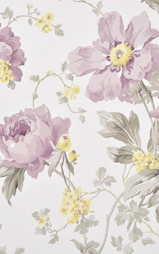 Laura Ashley / Peony Garden Amethyst LA17005