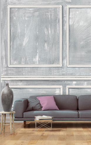 Louise Body / Panelled Wall Grey