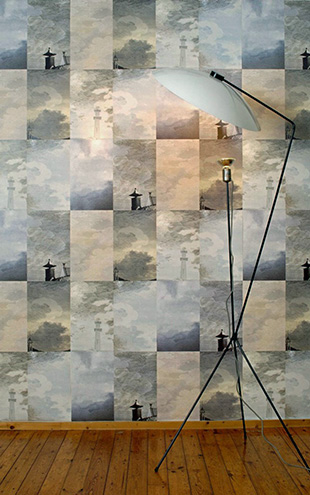 【限定数】Desimone Wayland / Dutch SKY WALLPAPER STORM GREY