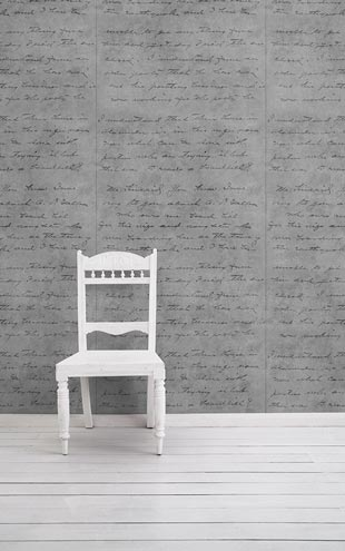mineheart / Concrete Loveletter Wallpaper (Light) WAL/039 SM 031