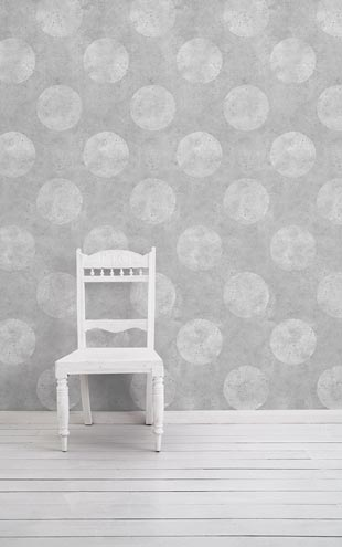 mineheart / Light Urban Concrete Polkadot Wallpaper