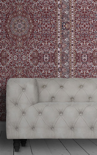 mineheart / PERSIAN WALLPAPER - RED WAL/048 SM 045