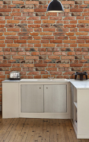 Kemra Camden Factory Bricks  / KEM058W
