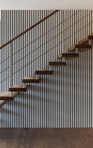 Kemra Corrugated Iron / KEM061W