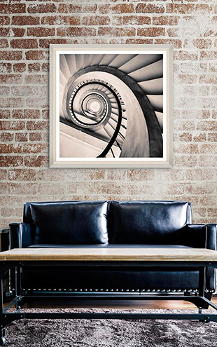 Mind the Gap WALL ART / Spiral Staircase IV  FA11742