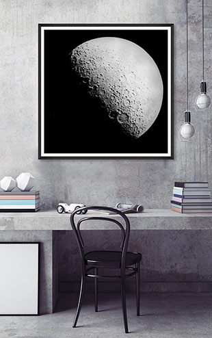 MINDTHEGAP WALL ART / The Moon II  FA12326
