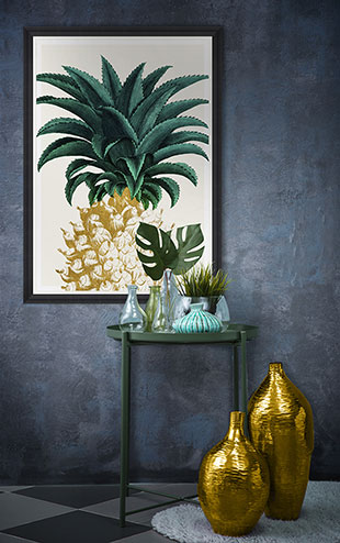MINDTHEGAP WALL ART / PINEAPPLE SWEET  FA12764