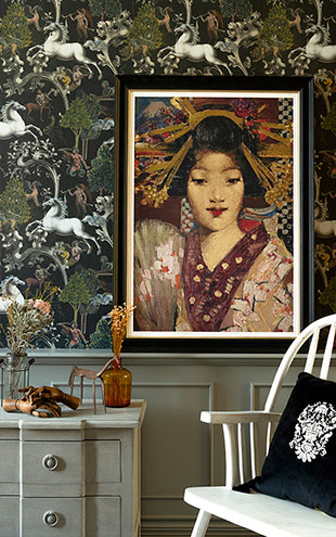MINDTHEGAP WALL ART / GEISHA GIRL BY GEORGE HENRY  FA13176