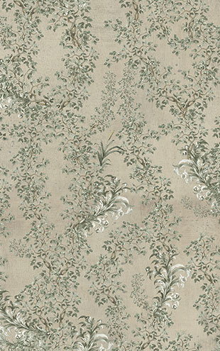 Mind the Gap / LSC / TRANSYLVANIAN MANOR WALLPAPER COLLECTION / SOFT LEAVES WP20459