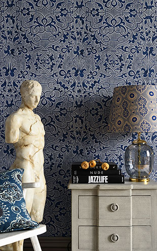 Mind the Gap / The Wallpaper Compendium / DECO TRELLIS WP20508